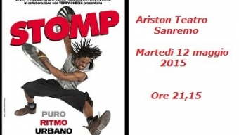"""STOMP"" IN SCENA MARTEDI' AL TEATRO ARISTON"